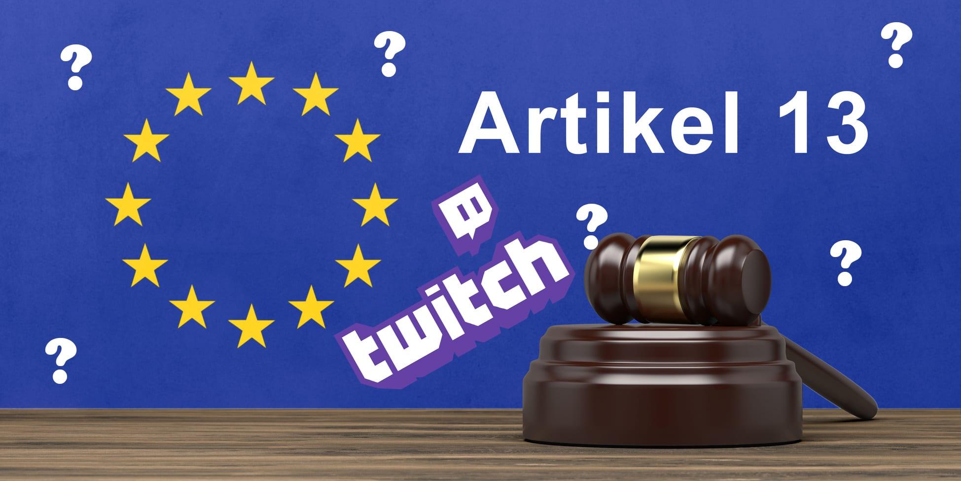 Artikel 13 Twitch