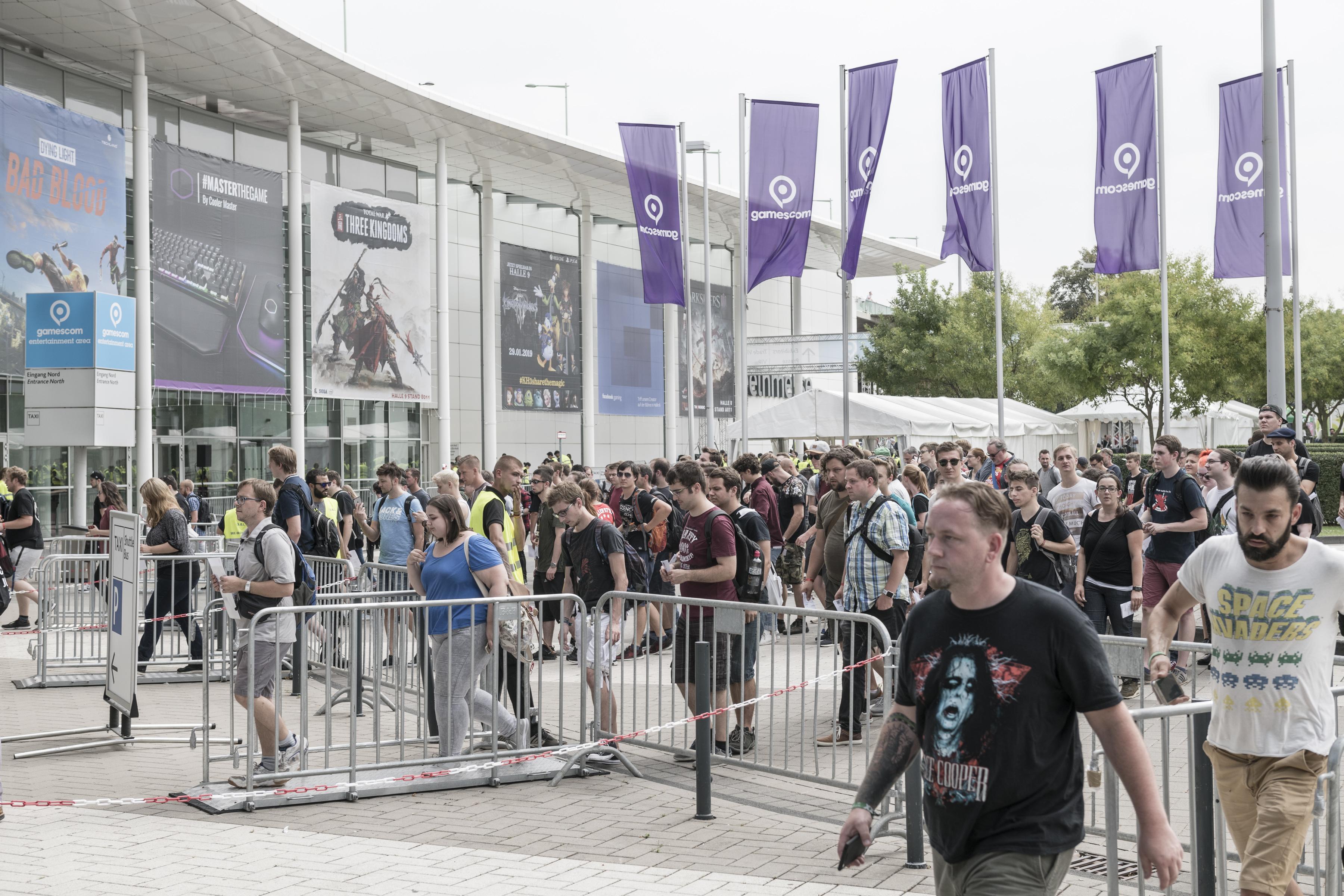 Gamescom Einlass der Wildcard Gewinner, Eingang Nord