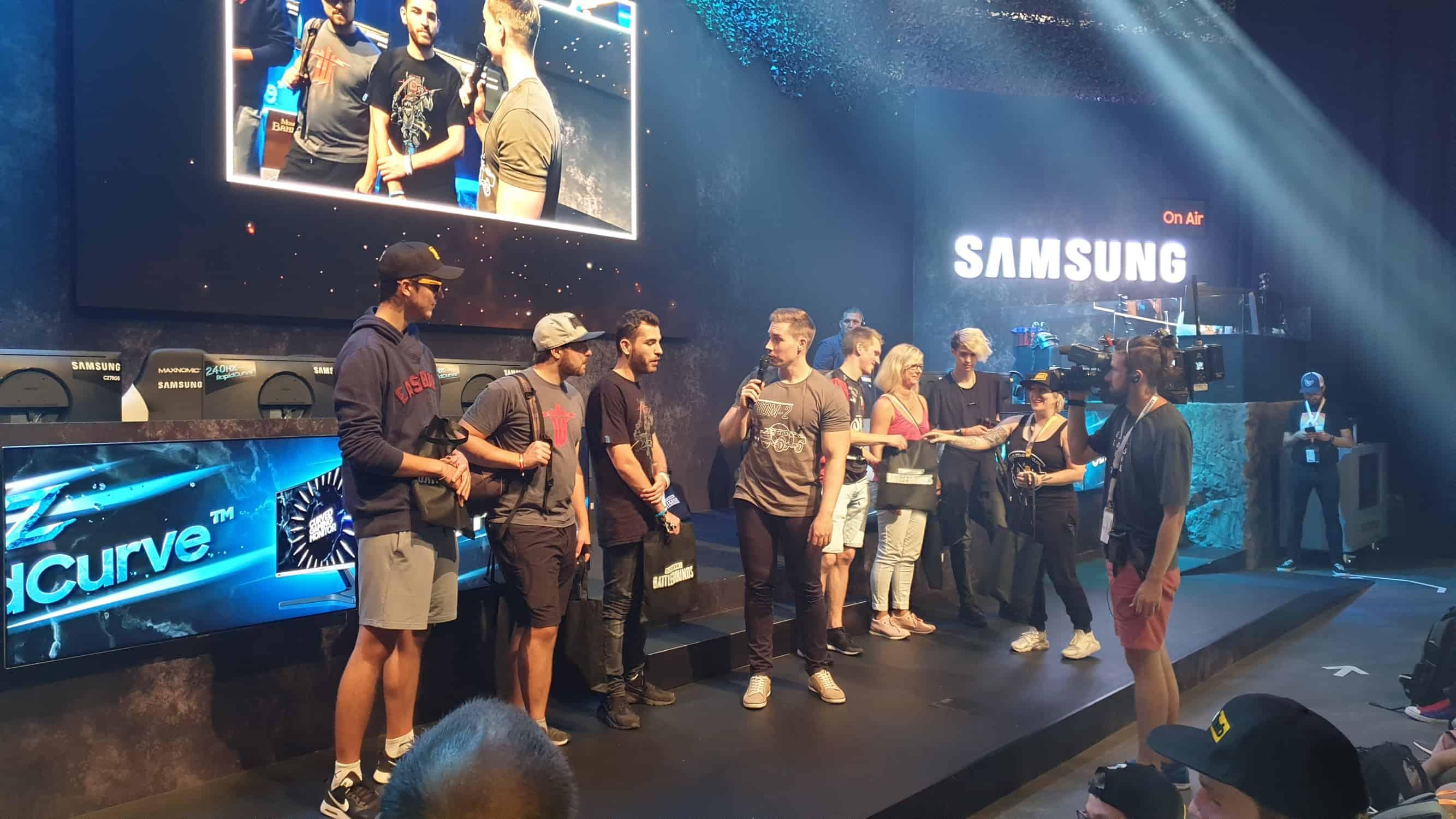 Samsung Stand Gamescom 2019
